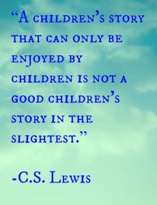 Children's story quote CSL